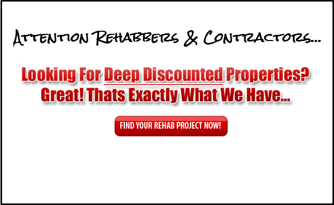GET THE BEST DEALS ON REHABS IN YOUR AREA